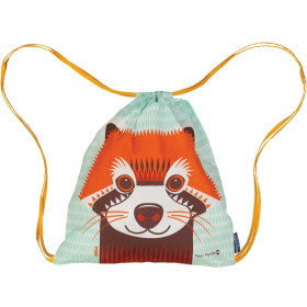 Coq en Pâte Drawstring Bag RED PANDA