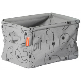 Done by Deer Soft doublesided Storage grey