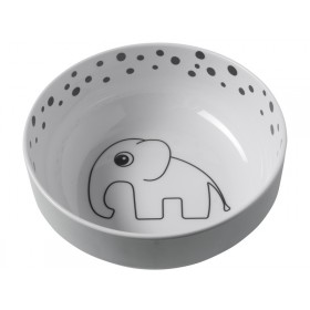 Done by Deer Yummy DOTS bowl grey