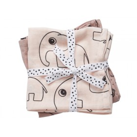 Done by Deer Contour burp cloth pack powder