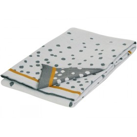 Done by Deer Knitted blanket DOTS grey
