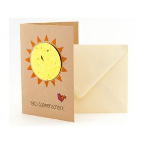 DieStadtgärtner Greeting Card SUNSHINE