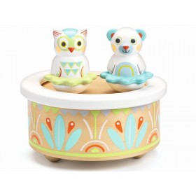 Djeco Baby White Music Box BABYMUSIC