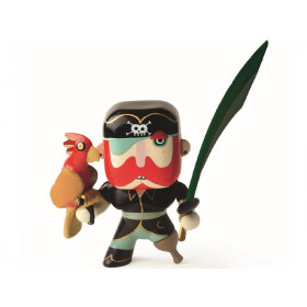 Djeco Arty Toys Pirate SAM PARROT