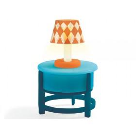 Djeco Dollhouse Light on the Table