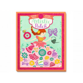 Djeco Artistic Patch LITTLE LADIES Velvet Collage