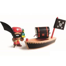 Djeco Arty Toys Pirate EL LOCO