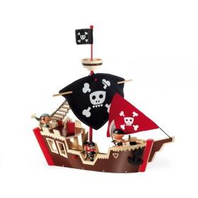 Djeco Arty Pirates THE PIRATE BOAT