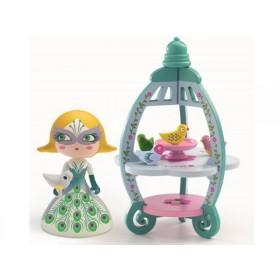 Djeco Arty Toys Princess Colomba with birdhouse