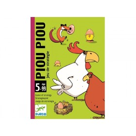 Djeco Card Game PIOU PIOU