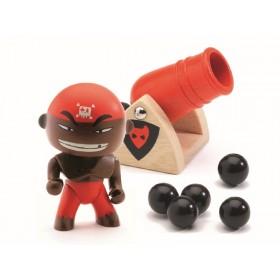 Djeco Arty Toys Pirate DJAMBO & BIG BOOM