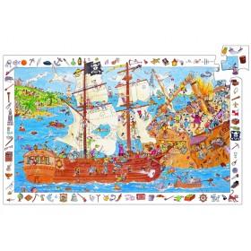Djeco discovery puzzle Pirates