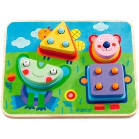 Djeco puzzle game Kikou Plok