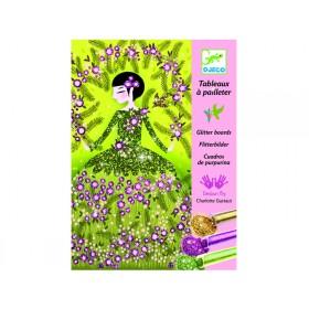 Djeco Glitter boards Glitter dresses