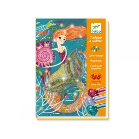 Djeco Glitter boards Mermaids