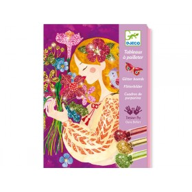 Djeco Glitter Pictures The Scent Of Flowers