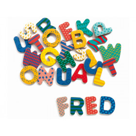 Magnetic letters by Djeco