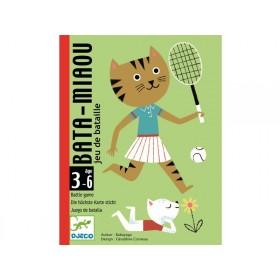 Djeco Card Game BATA-MIAOU