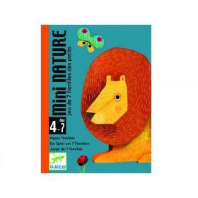 Djeco card game mini nature