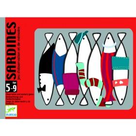 Djeco card game Sardines