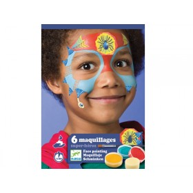Djeco Kids Make Up SUPER HEROES