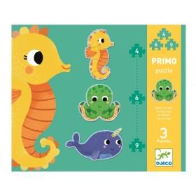 Djeco First Puzzle SEA ANIMALS