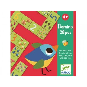 Djeco learning game Domino 1,2,3