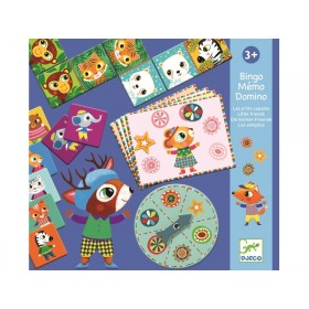 Djeco Learning Game Set LITTLE FRIENDS