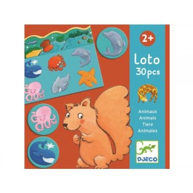 Djeco Loto Game ANIMALS