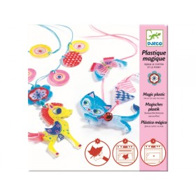 Djeco Magic Plastic Kitten and Pony Jewels