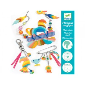 Djeco Magic Plastic Rainbow Horse Jewels
