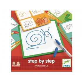 Djeco Eduludo step by step Animals and Co