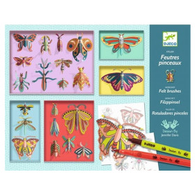 Djeco Colouring and Craft Kit BUTTERFLIES
