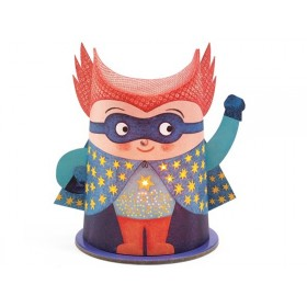 Djeco Mini-Nightlight Mister Super