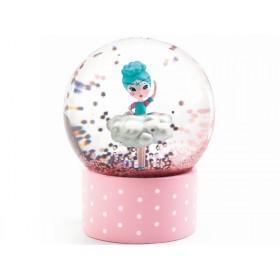 Djeco Mini Snow Globe BALLERINA