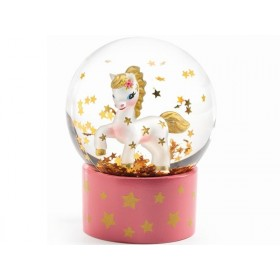 Djeco Mini Snow Globe UNICORN