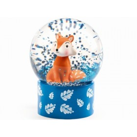 Djeco Mini Snow Globe FOX