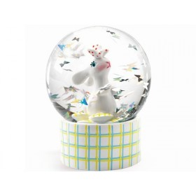 Djeco Mini Snow Globe RABBIT