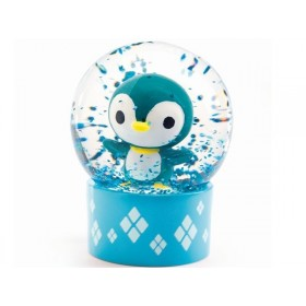 Djeco Mini Snow Globe PENGUIN