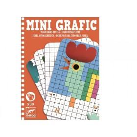 Djeco Mini Graphic COLOURING PIXELS