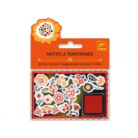 Djeco Stamp set FLOWERS