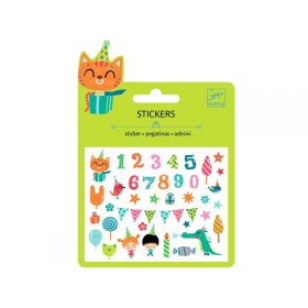 Djeco Mini stickers BIRTHDAY