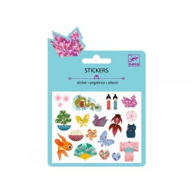 Djeco Mini stickers JAPANESE DESIGNS