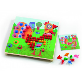 Djeco mosaic game animals