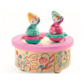 Djeco Magnet Musical Box FLOWER MELODY