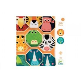 Djeco Memory Game OCTOMEMO ANIMALS