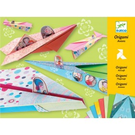 Djeco Origami Pretty paper Aircraft