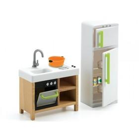 Djeco dollhouse compact kitchen
