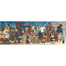 Djeco Puzzle Fantasy Orchestra (500 Pcs)