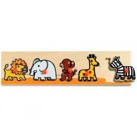 Djeco wooden puzzle Sava'n'co